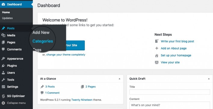 How to Use WordPress Categories Tutorial