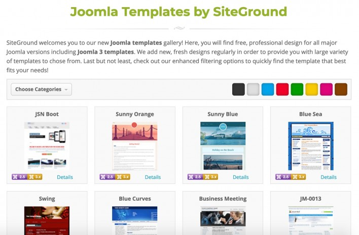 Install Joomla Templates