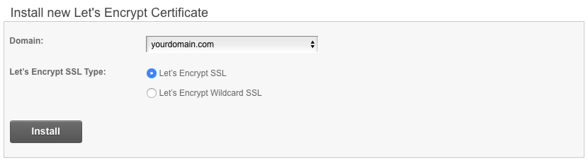 How to Install SSL in cPanel